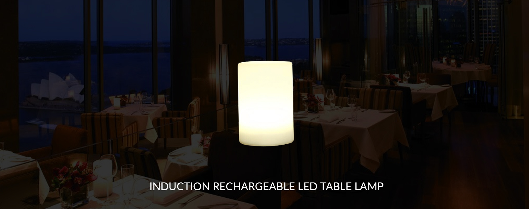 Rechargeable Table Lamps