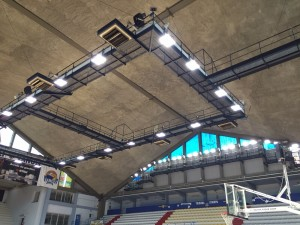 legend LED Flood light installation